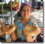 Узбекские лепешки. Фото ИА Фергана.Ру