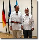 Посол Германии в Узбекистане Х-Й.Кидерлен и Акрам Маруфжонов. Фото ИА Фергана.Ру