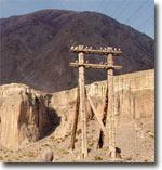 Горные обрывы плато Ташкура