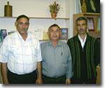 Лидеры таджикского сообщества Пермского края: Ф.Хамидов, Р.Мазориев, Ш.Хайдаров