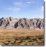 Горы на западе Ферганской долины. Фото ИА Фергана.Ру