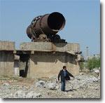 Останки Комбината строительных материалов, Джизак. Фото ИА Фергана.Ру