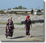 Процветавшие когда-то поселки вновь зарастают травой. Фото ИА Фергана.Ру