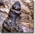 Каменный лингам в Араване. Фото ИА Фергана.Ру