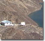 Наблюдательная станция на Сарезе. Фото Л.П.Папырина