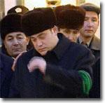 Сын Туркменбаши Мурад. Кадр с экрана туркменского телевидения