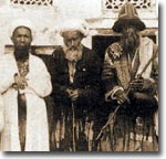 Туркестанские странствующие дервиши. Старинная открытка из коллекции Ферганы.Ру
