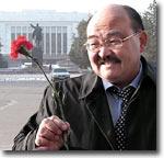 Депутат парламента Кыргызстана Дамир Оскомбаев. Фото Германа Ломкова (Фергана.Ру)