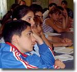 Занятия в воскресной школе. Фото ИА Фергана.Ру
