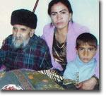 Шариф Раджабов с семьей