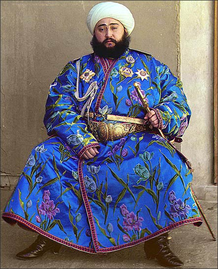 Сайид Алим-хан. Фото С.М.Прокудина-Горского, примерно 1911-15 гг.