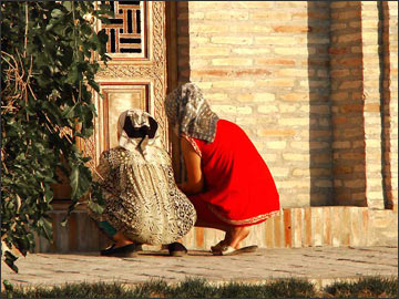 Паломники. Фото ИА Фергана.Ру
