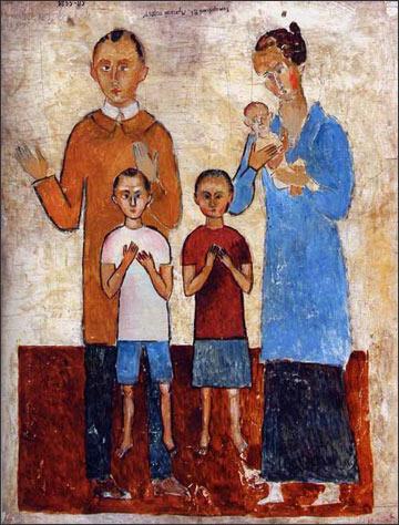 Владимир Комаровский. Семейный портрет