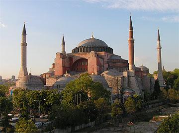Один из символов Стамбула - Айя София. Фото ИА Фергана.Ру