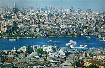Панорама Стамбула. Фото ИА Фергана.Ру