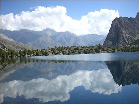 Алаудинское озеро. Фото А.Мазаева