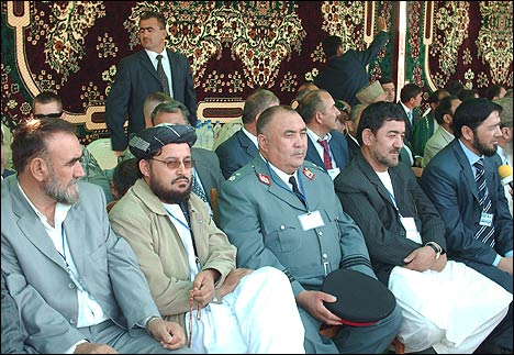 Представители Исламской Республики Афганистан. Фото с ИА Фергана.Ру