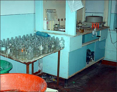 Лаборатория райбольницы Файзабада