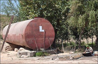 Цистерна для питьевой воды в Лолаги (Файзабад)