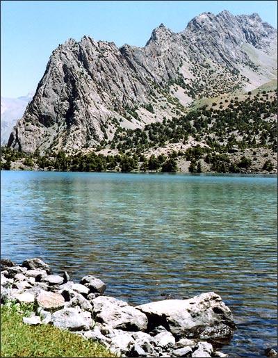 На Алаудинских озерах. Фото автора
