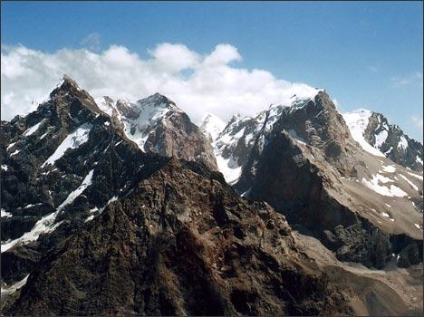 Скальные гиганты. Вершины Бодхона и Замок. Фото автора
