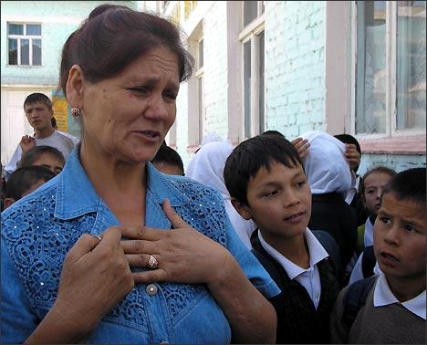 Beruny School Deputy Principal Ilmira Shakirova. Photo by Ferghana.Ru