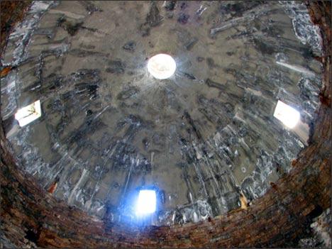 Купол крепости Таш-Рабат. Фото Хайрулло Мирсаидова