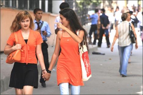 Студенты РТСУ. Фото ИА Фергана.Ру