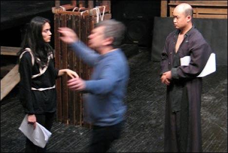 Фрагмент постановки Орестеи