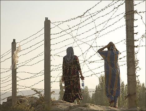 Узбекско-киргизская граница