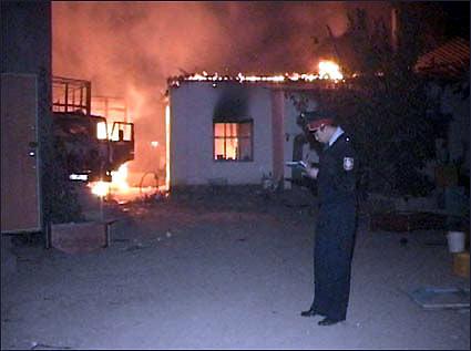 Поджоги и погромы в Маятасе