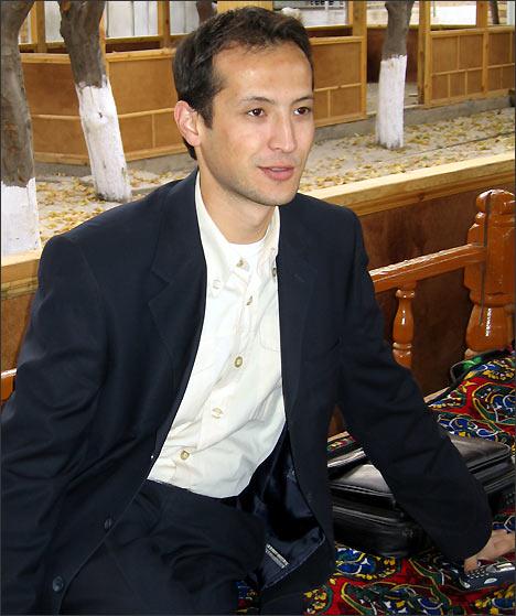 Алишер Саипов. Фото Шахиды Тулягановой, 23 октября, накануне гибели