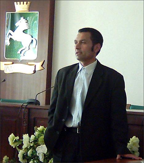Ҳамза Ҳамроев. Фото ИА Фергана.Ру