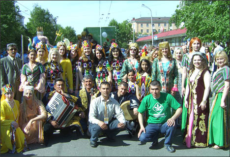 Томский городской этнический карнавал. Фото ИА Фергана.Ру