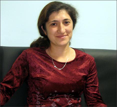 Равшан Сулейманова, главный редактор журнала Голос женщины (Москва). Фото ИА Фергана.Ру