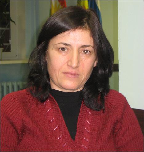 Фатма Патиева, заместитель председателя правления женской организации Воля (Москва). Фото ИА Фергана.Ру