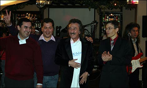Фото с вечера чирчикцев в Москве. Фото автора