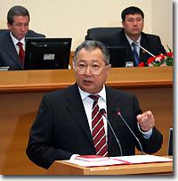 Курманбек Бакиев. Фото пресс-службы президента Кыргызстана