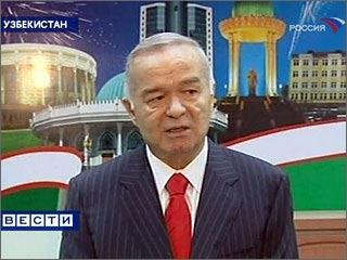 Российские телеканалы показывали картинку узбекских