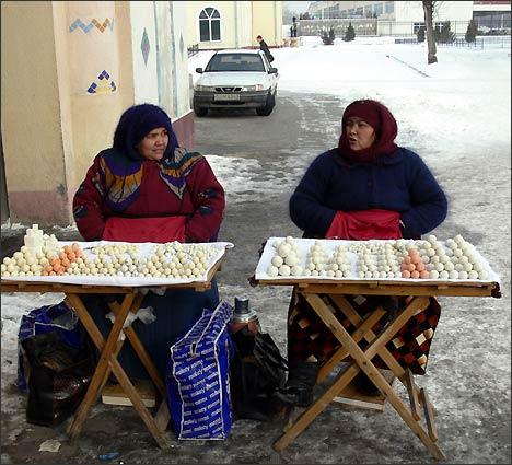 Торговцы на улицах Ташкента