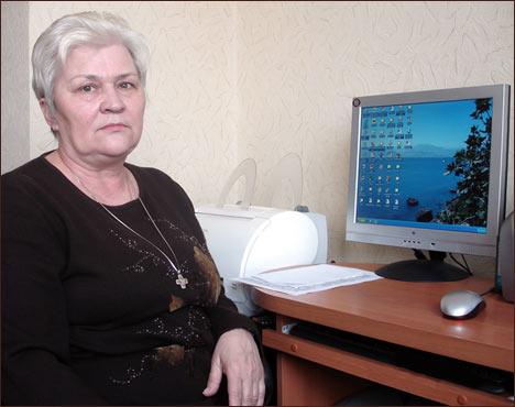 Тамара Чикунова. Tamara Chikunova