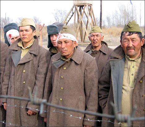 Военнопленные-туркестанцы. Сцена из фильма