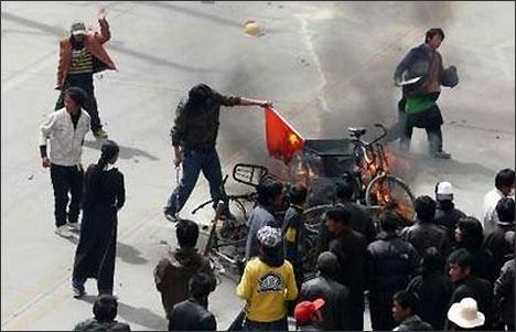 Столкновения в Лхасе