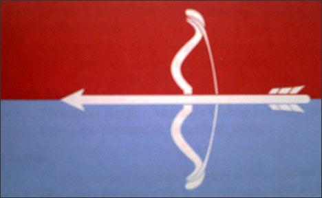 Знамя Туркестанского легиона. Фото из книги Ахада Андижана Борьба за независимость Туркестана за рубежом со времен джадидизма до независимости