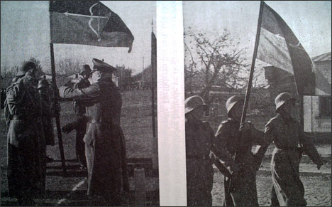 Туркестанские легионеры, 1943 г.