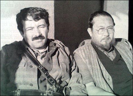 Члены Общества туркестанцев. Стамбул, 1987 г. Фото из книги Ахата Андижана