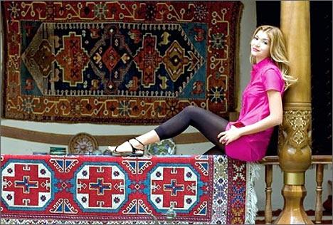 Gulnara Karimova. Hello! magazine