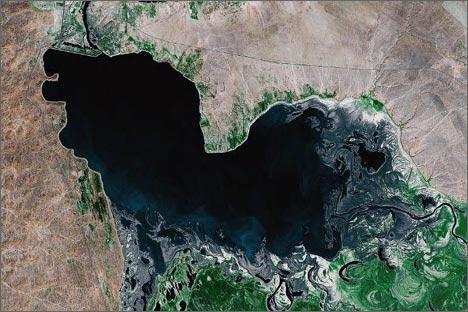 Шардаринское (Чардаринское) водохранилище