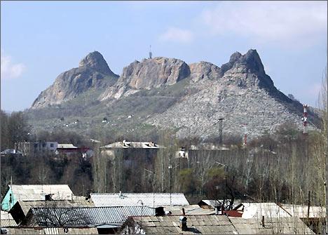 Кыргызстан гора сулайман тоо внесена