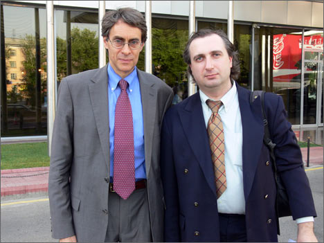 Kenneth Roth and Igor Vorontsov